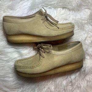 Clarks originals wallabees wallabee boot suede 8